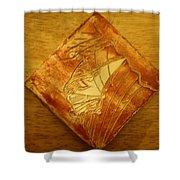 Vehicle - Tile Shower Curtain