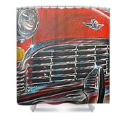 Vehicle- Grill Shower Curtain