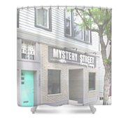 Veiled Mystery Mystery Street  Shower Curtain