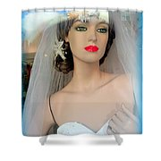 Veiled Thoughts Shower Curtain