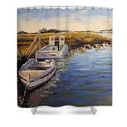 Veldrift Boats Shower Curtain