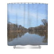 Velie Slough Shower Curtain