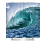 Velocity Curl Shower Curtain