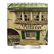 Veltliner Keller Shower Curtain