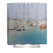 Venezia Canal Of Old Shower Curtain