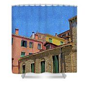 Venetia Et Histria Shower Curtain