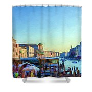 Venetian Afternoon I Shower Curtain