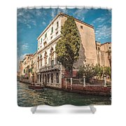 Venetian Architecture And Sky - Venice, Italy Shower Curtain