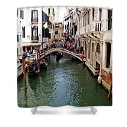 Venetian Bridge Shower Curtain
