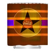 Venetian Cola Shower Curtain