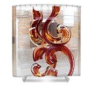 Venetian Glass Style Shower Curtain
