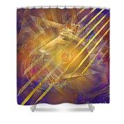 Venetian Gold Shower Curtain