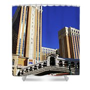 Venetian Hotel Shower Curtain