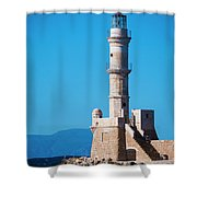 Venetian Lighthouse Shower Curtain
