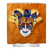 Venetian Mask 2 Shower Curtain