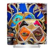 Venetian Masks Shower Curtain