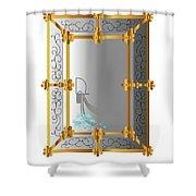 Venetian Mirror Shower Curtain