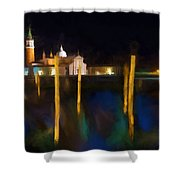 Venetian Nights Shower Curtain
