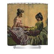 Venetian Women Shower Curtain