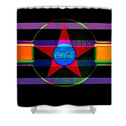 Venetion Neon Shower Curtain