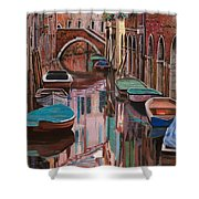 Venezia A Colori Shower Curtain