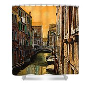 Venezia Al Tramonto Shower Curtain