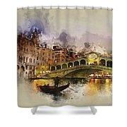 Venezia, Canal Grande Shower Curtain