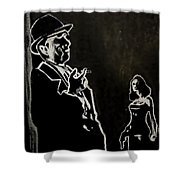 Vengeance Shower Curtain
