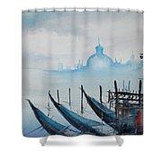 Venice 2 Shower Curtain