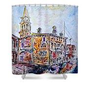 Venice 7-3-15 Shower Curtain by Vladimir Kezerashvili