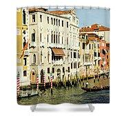 Venice Architecture Shower Curtain
