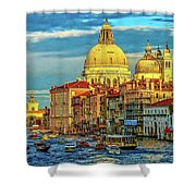 Venice Basilica Shower Curtain