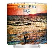 Venice Beach Boogie Shower Curtain
