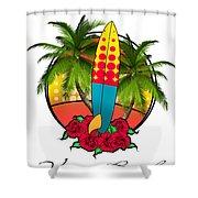 Venice Beach Shower Curtain
