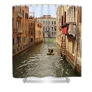 Venice Canal 2 Shower Curtain