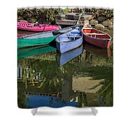 Venice Canal Reflections Shower Curtain