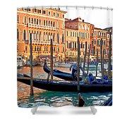 Venice Canalozzo Illuminated Shower Curtain