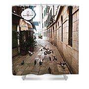 Venice, Castello 2 Shower Curtain