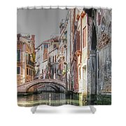 Venice Channelss Shower Curtain