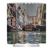 Venice Channelsss Shower Curtain