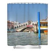 Venice Channelssssss Shower Curtain