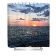 Venice Florida Sunset Shower Curtain