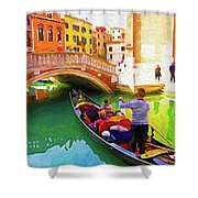 Venice Gondola Series #1 Shower Curtain