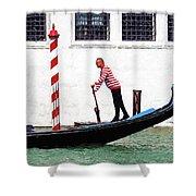 Venice Gondola Series #5 Shower Curtain