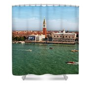 Venice Grand Canal And St Mark's Campanile Shower Curtain