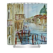Venice Impression IIi Shower Curtain