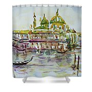Venice Impression Iv Shower Curtain