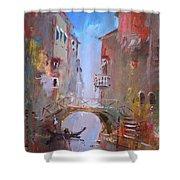 Venice Impression Shower Curtain