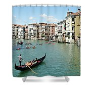 Venice In Colors Shower Curtain