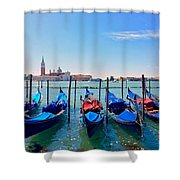 Venice In June Shower Curtain